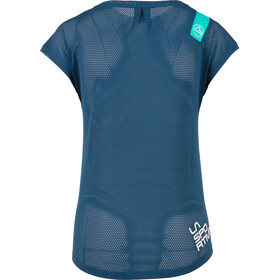 La Sportiva Traction T-Shirt Femme, aqua/opal